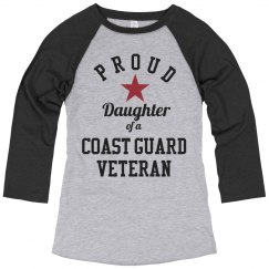 Coast Guard Vet Daughter Pride
