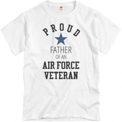 Proud Air Force Veteran Father