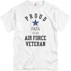 Proud Air Force Veteran Papa