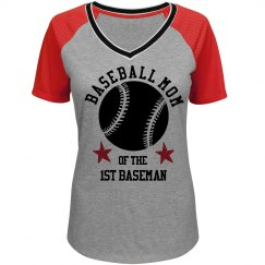 Baseball Mom Of 1st Baseman