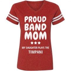 Proud Timpani Band Mom