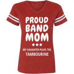 Proud Tambourine Band Mom