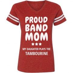 Proud Tambourine Band Mom