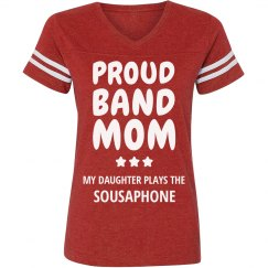 Proud Sousaphone Band Mom