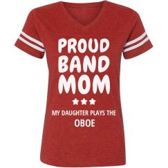 Proud Oboe Band Mom