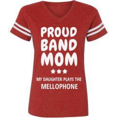 Proud Mellophone Band Mom