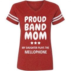 Proud Mellophone Band Mom