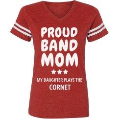 Proud Cornet Band Mom