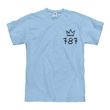 Light Blue Shortsleeve Tee