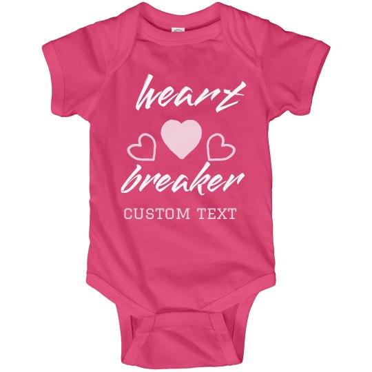 Lil' Heartbreaker Custom Baby Bodysuit