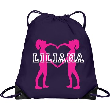 Liliana cheer bag