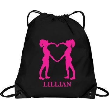 Lillian cheer bag