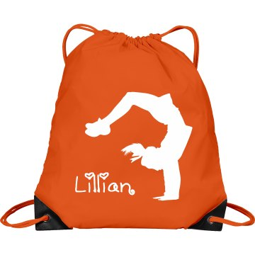 Lillian cheerleader bag