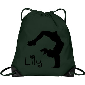 Lily cheerleader bag