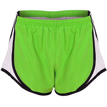 Lime Running Shorts