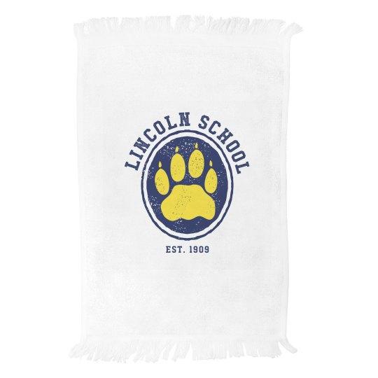 Lincoln School Gym/Rally Towel