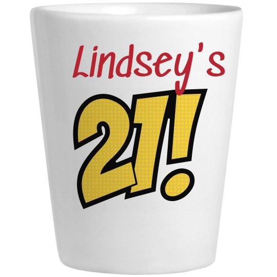 Lindsey's 21st Birthday