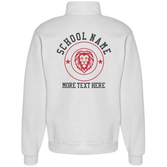 Lion Badge School Sweatshirt