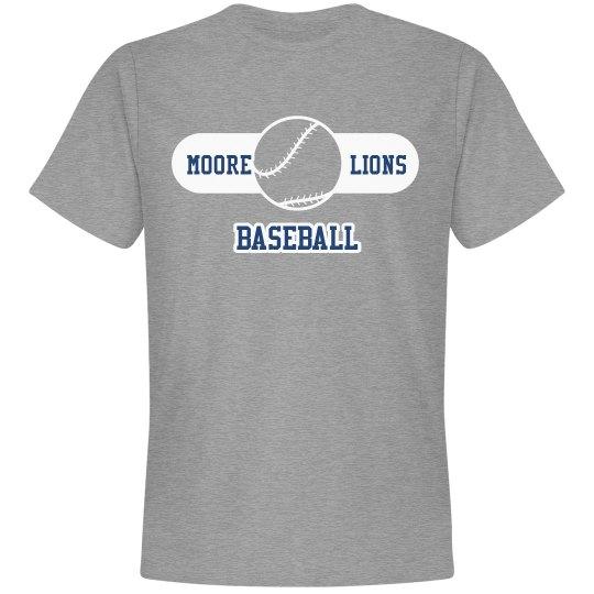 Lion Baseball Unisex T