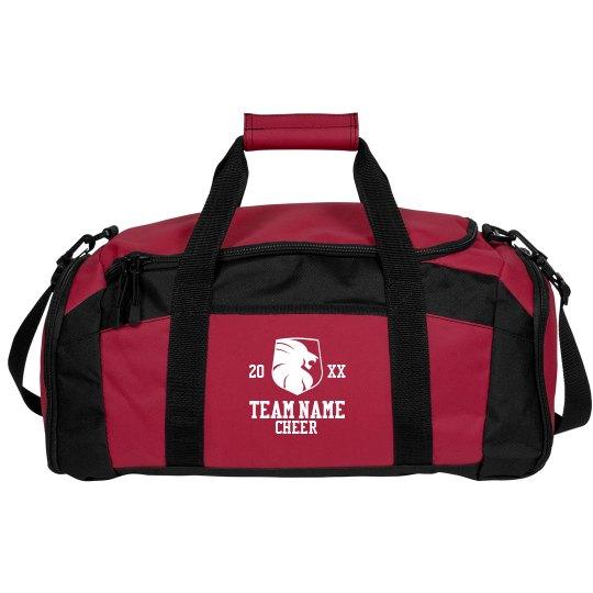 Lion Mascot Cheer Team Bag