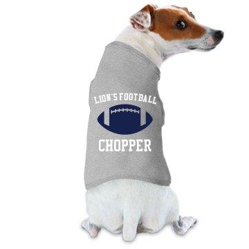 Lion's Football Dog Tee