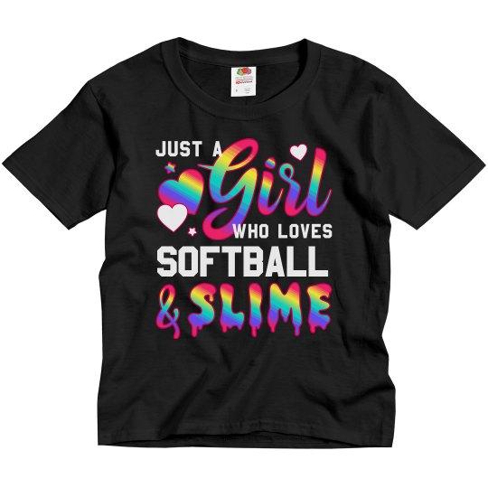 Litter Girl Softball Player Slime