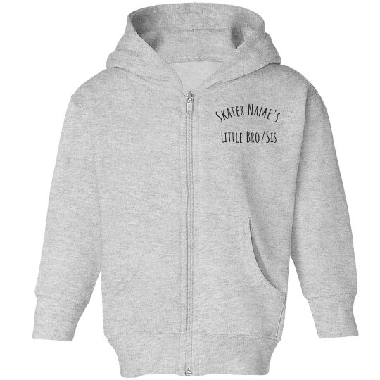 Little Bro/Sis Toddler Zip Hoodie