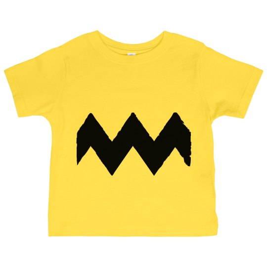 Little Charlie Brown Costume Shirt for Halloween