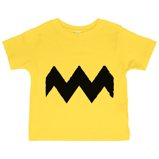 Little Charlie Brown Costume Shirt for Halloween