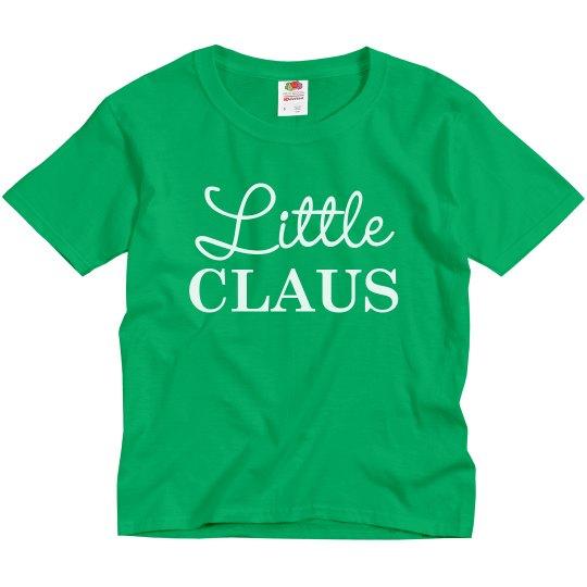 Little Claus Matching Christmas PJs