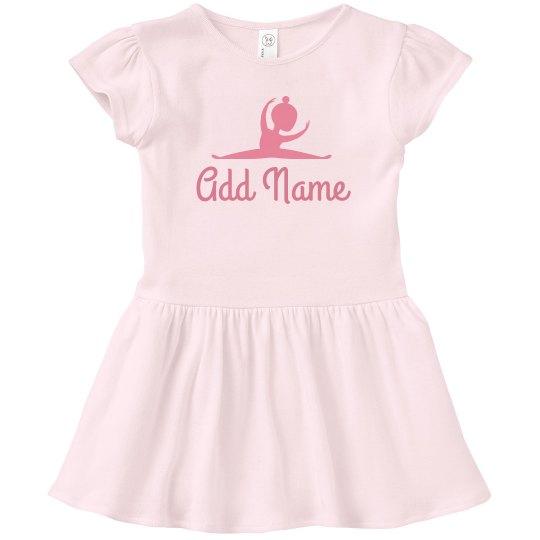 Little Dancer With Custom Name