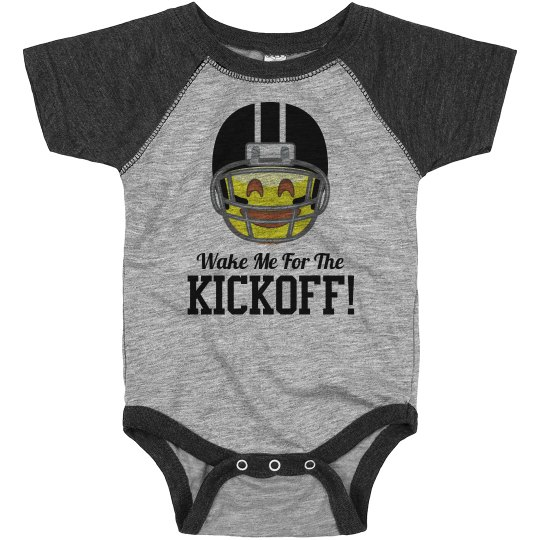 Little Football Fan Baby