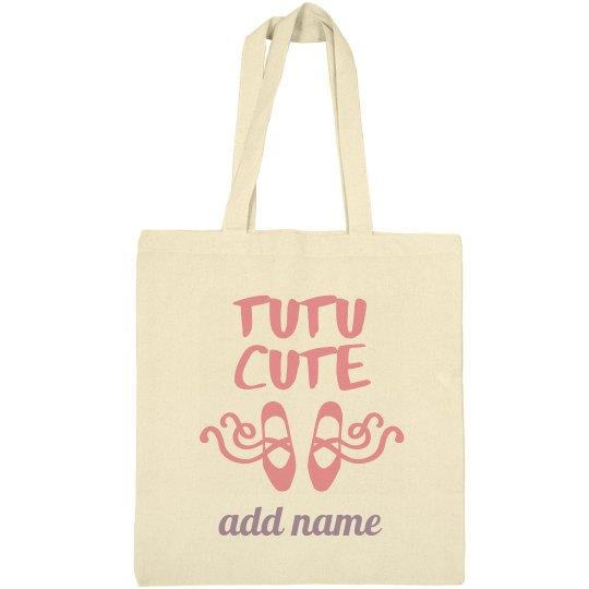 Little Girl Ballet Bag