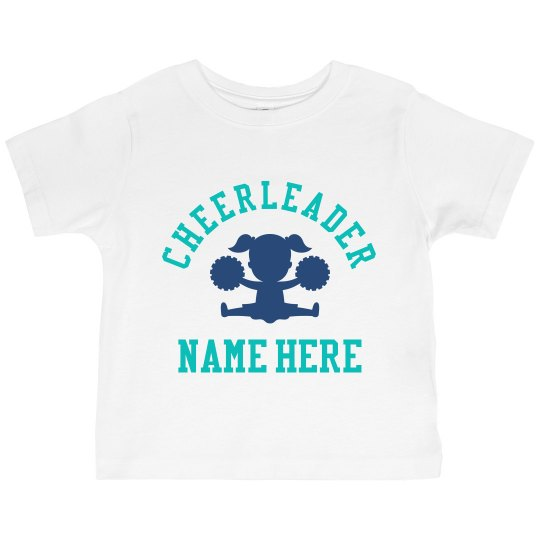 Little Girl Cheerleader Gift Custom