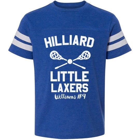 Little LAX Kid Custom Shirt