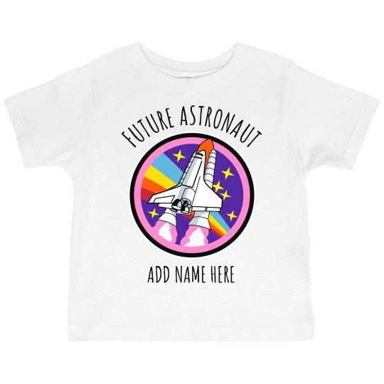 Little Miss Future Astronaut