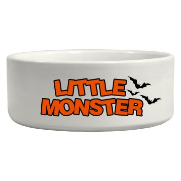 Little Monster Pet Bowl