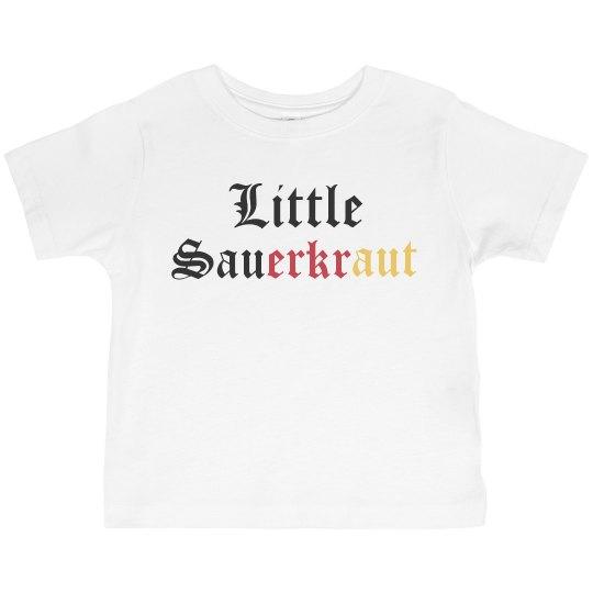 Little Sauerkraut toddler tee