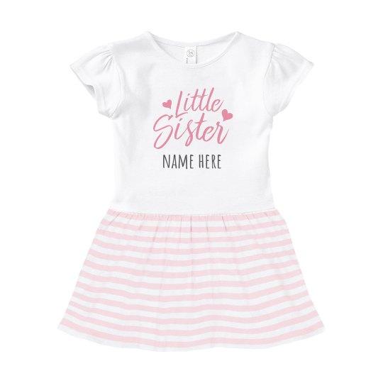Little Sis Custom Baby Dress