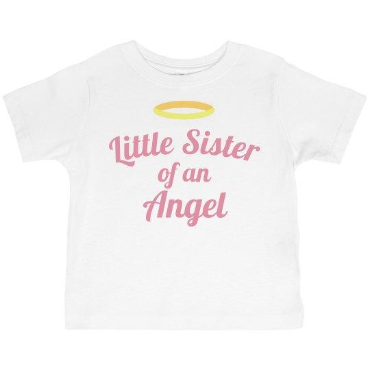 Little Sister Custom Memorial Shirt