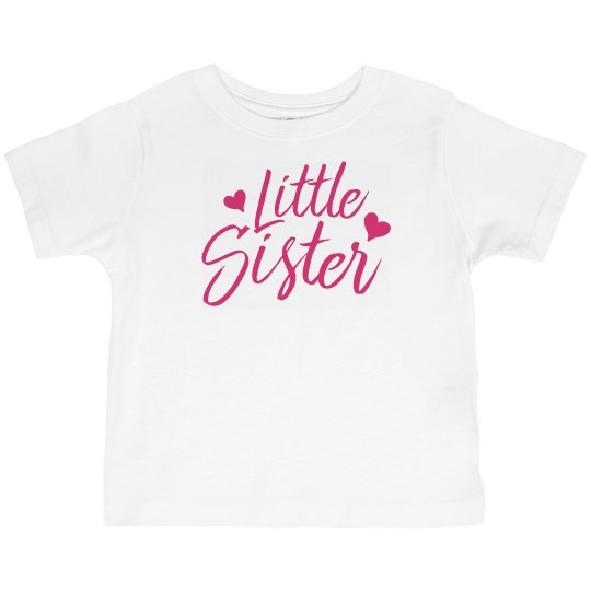 Little Sister Toddler Tee