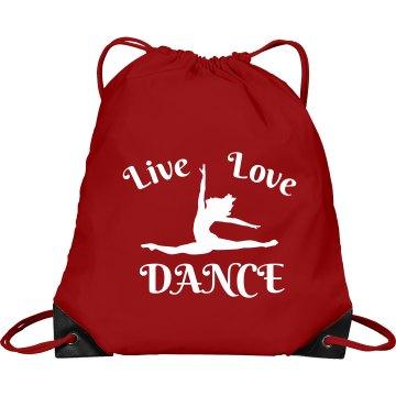 Live love dance bag