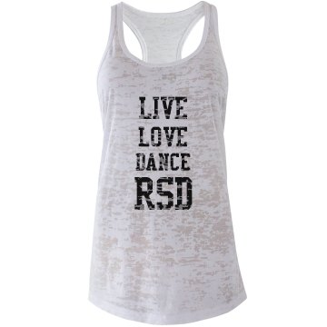 Live Love Dance Tank