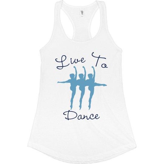 Live To Dance Tank
