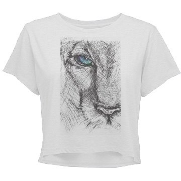 Living Fearless (Junior) Relaxed Crop Tee Grafic