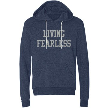Living Fearless (Unisex) Midweight Hoodie