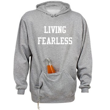 Living Fearless (Unisex) Tailgate Hoodie