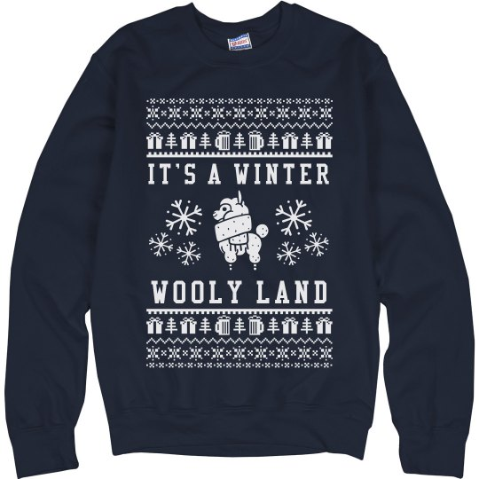 Living In A Winter Wooly Land