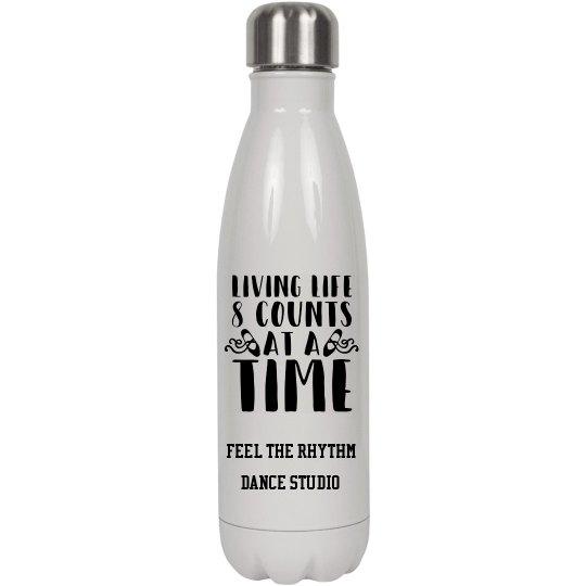 Living Life Water Bottle