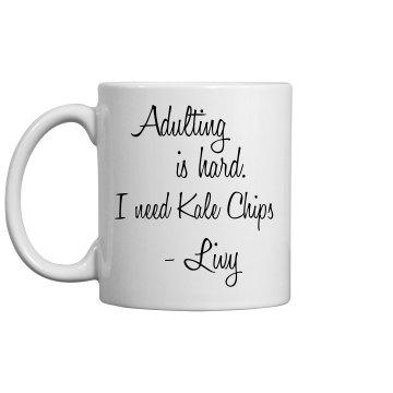 Livy Adulting Mug
